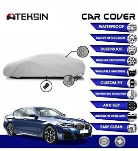 BMW 5 Series Car Cover Fitted Waterproof Snow Rain UV Sun Dust
