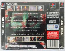 Sony PS1 Playstation 1 Rear Inlay Only - Silent Hill