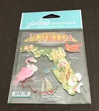 SCRAPBOOKING STICKERS JOLEE'S FLORIDE  3D