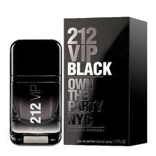 212 VIP BLACK FOR MEN de CAROLINA HERRERA - Colonia / Perfume 50 mL  Uomo CH NYC