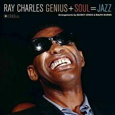 Genius + Soul = Jazz by Ray Charles (Vinyl, Jan-2017, Jazz Images)