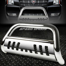 FOR 07-14 CHEVY SUBURBAN/TAHOE/ESCALADE CHROME BULL BAR PUSH BUMPER GRILLE GUARD