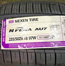 4 New 235 50 18 Nexen N'Fera AU7 Tires