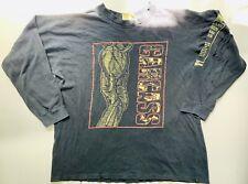 CARCASA camisa de mangas largas Vintage Heartwork 93 Australia Tour grindcore L