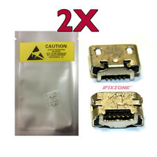 2 x New Micro USB Charging Sync Charger Port Repair Part Trio Stealth G5 10 USA