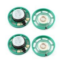 0.25W 32 Ohm Kunststoffgehaeuse 27mm Durchmesser Magnet Lautsprecher 4Pcs Gr