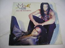 """MILLI VANILLI - ALL OR NOTHING - 12"""" VINYL EXCELLENT CONDITION 1989 ITALY"""