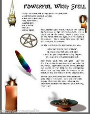 Powerful Wish Spell Using a Feather Wicca Book of Shadows Pagan Occult Spell