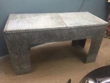 industrial steampunk pub man cave rustic Water Tank Table
