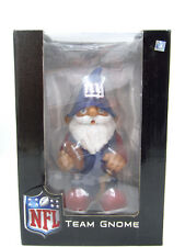"NFL Team Gnome NY Giants ~ 7"" Football Souvenir ~ Forever Collectibles"