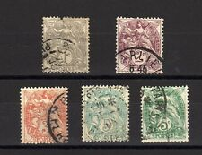 Lot timbres France Obl BLANC -  FF23