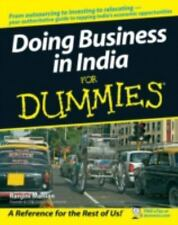Doing Business in India for Dummies by Ranjini Manian (2007, Paperback)