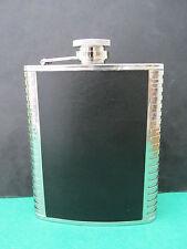 Flasque de poche inox et simili cuir, 17 cl