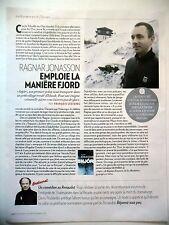 COUPURE DE PRESSE-CLIPPING : Ragnar JONASSON emploie la manière fjord 05/2016