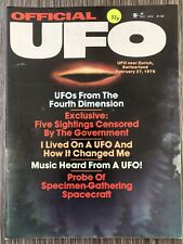 Official UFO Magazine Dec 1976 - Switzerland 4th Dimension Cattle Mutilations
