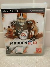 PS3 game Madden 12 NFL manual included
