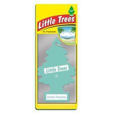 4 x Little Magic Tree Désodorisant Voiture Ocean Paradise MELON/POMME Freshner 2D