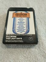 Fillmore: The Last Days - Part 1 - 8 Track Tape