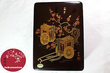 JAPONAIS BOITE A4 PAPIER LAQUER BOX TRADITIONAL JAPANESE KYOTO LACQUERWARE
