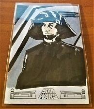 2017 Topps Star Wars 40th Anniversary SKETCH CARD  DEATH STAR TROOPER