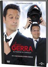"""@@@  DVD """"LAURENT GERRA AU THEÂTRE DU CHÂTELET"""" - NEUF  @@@"""