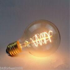 Edison Ampoule E27 60W G80 Autour du fil American Restaurant Edison Blanc Chaud