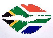 SOUTH AFRICAN Lips Car Sticker 12.5cm Iphone Ipad Wall Art Springboks S A R U