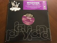 "WISDOME OFF THE WALL VINYL 12"" REMIXES"