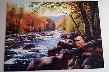 "Reflective Art John Cogan's ""Autumn Solitude"" Puzzle 1000 piece - Complete"