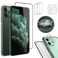 For iPhone 11,11 Pro Max Tempered Glass Screen Protector/Camera Lens Protector