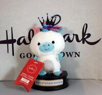 Hallmark Itty Bittys Small Stars Unicorn with tags