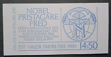 Sweden 1986 Nobel Prize Winners For Peace Booklet. MNH.