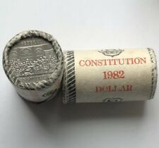 1982 Canada dollar Confederation Constitution Special Wrap Roll $1 (20 coins)
