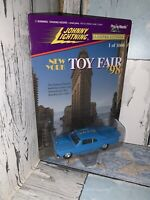 Johnny Lightning 1966 Chevy Malibu Pro Street Blue New York Toy Fair '98 NOC