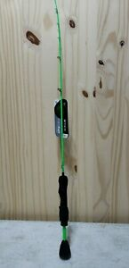 """13 Fishing Radioactive Pickle 27"""" Ultra Light Only Tickle Stick"""