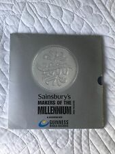 sainsburys millenium coin collection