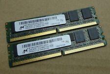 4GB Kit (2 x 2GB) Micron MT18HVS25672PKZ-80EH1 DDR2 VLP Mini-RDIMM Memory