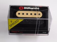 DiMarzio F-spaced Titan Neck Model Humbucker Black/Creme W/Black Poles DP 258