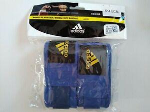 adidas Boxing hand wrap BLU, 4.5cm Weak stretching (NEW)