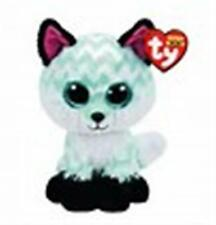 TY BEANIE BOO BOOS PIPER THE FOX CLAIRE'S EXCL. MWMT  6  INCHES   HTF