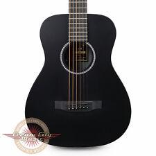 Brand New Martin LX Black Little Martin Travel Acoustic Guitar in Jett Black