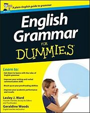 English Grammar for Dummies UK Edition - Lesley J. Ward