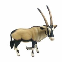 Schleich Wild Life ORYX Figure Animal Brown Horns Toy Educational14759 Model