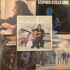 Stephen Stills 5x LP Lot Self Titled 2 Manassas Live Super Session Vinyl Record