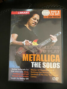 Lick Library Metallica The Solos DVD/CD