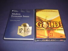 Teaching Co Great Courses  DVDs         MODERN ECONOMIC ISSUES       new + BONUS
