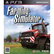 Used PS3 Farming Simulator Japan Import