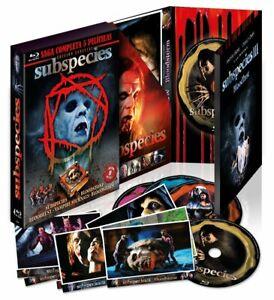 Subspecies Complete Saga Blu Ray Import Ltd Edition Lenticular New/Sealed