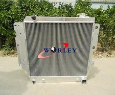 3 Rows for Jeep Wrangler YJ TJ V8 1987 - 2006 Aluminum Radiator Conversion 88 89