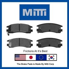 Rear Disc Brake Pad Semi-Metallic Set For Buick Century Lesabre Regal Riviera
